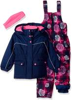 Pink Platinum Little Girl's Printed Super Snowsuit Outerwear