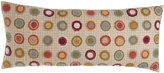 """Pine Cone Hill Veva Pillow with Circle Appliques, 15"""" x 35"""""""