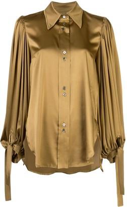 Ellery Monpi ballon-sleeve shirt