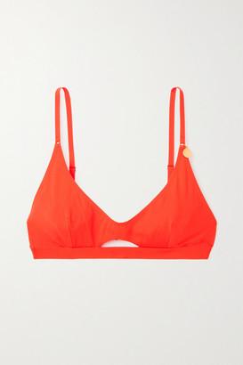 Stella McCartney Cutout Bikini Top - Orange
