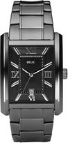 JCPenney RELIC Relic Mens Gunmetal Rectangle Watch ZR77109