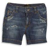Dolce & Gabbana Baby's Distressed Denim Shorts