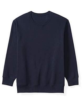 Amazon Essentials Men's Big and Tall Crewneck Fleece Sweatshirt fit by DXL
