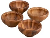 Nambe Yaro Set of 4 Individual Salad Bowls