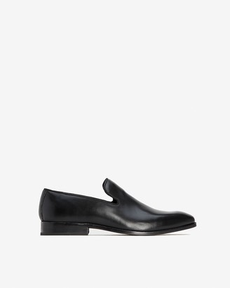 Express Polished Leather Loafer Dress Shoes