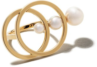 TASAKI 18kt yellow gold Cosmic Akoya pearl ring