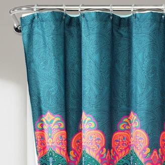 Lush Decor 14-piece Boho Chic Shower Curtain Set