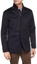 Peter Millar Wade Wool-Cashmere Blazer Jacket, Navy