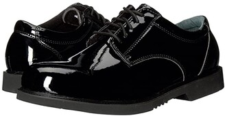 Thorogood Uniform Classics Oxford (High Gloss Pormeric Black) Men's Work Boots