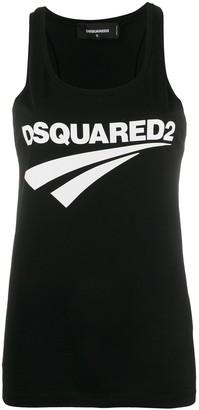 DSQUARED2 Logo Print Tank Top