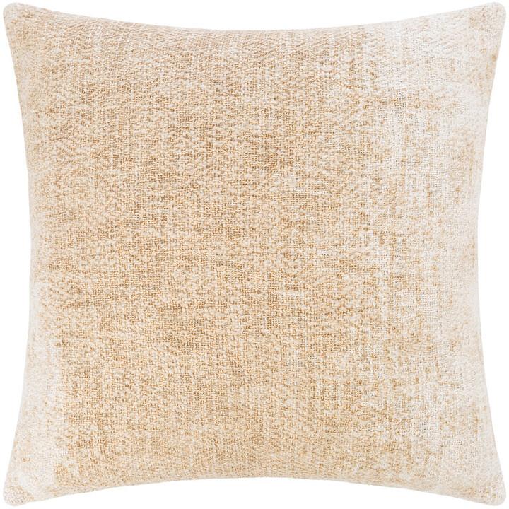 Retreat - Textured Ombre Cushion - 45x45cm - Cream
