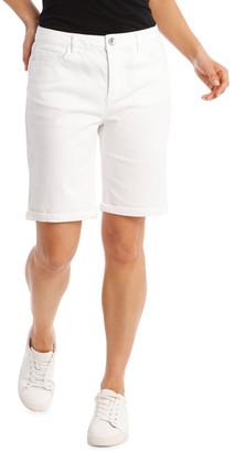 Regatta 5 Pocket Denim Short - Blanc White