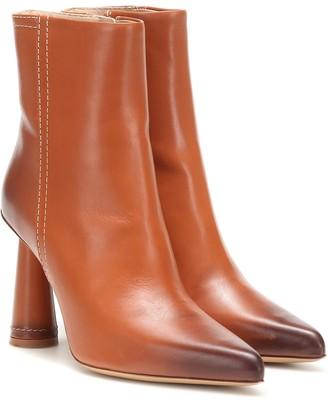 Jacquemus Les Bottes Toula leather ankle boots