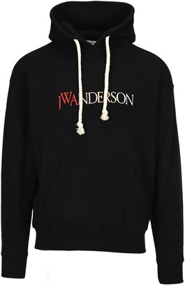 J.W.Anderson Embroidered Logo Hoodie