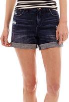 JCPenney A.N.A a.n.a Roll-Cuff Boyfriend Shorts