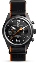 Bell & Ross BR 126 Carbon Orange Chronograph, 41mm