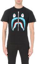 A Bathing Ape Shark Cotton-jersey T-shirt