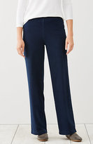 J. Jill Pure Jill Indigo Wide-Leg Knit Pants