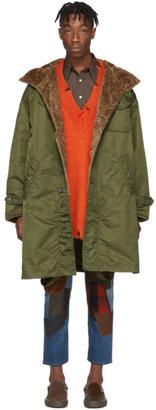 Engineered Garments Green Coastline Parks Coat