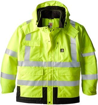 Carhartt Men's Big & Tall High Visibility Waterproof Class 3 Insulated Sherwood Jacket