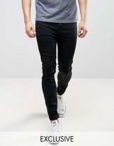 Lee Spray On Power Stretch Jeans Black Wash Exclusive