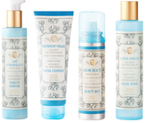 Mediteranean Freshness Facial Toner, Makeup Remover, Facial Cleanser & Beauty Mist Set