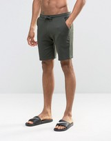 Asos Loungewear Shorts In Khaki