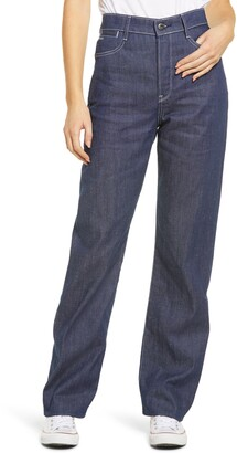 G Star Tedie Ultra High Waist Straight Leg Jeans