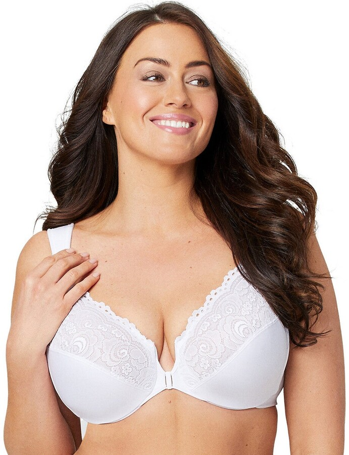 Thumbnail for your product : Glamorise Elegance Lace Full Cup Bra