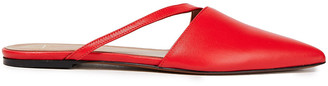 ATP ATELIER Neviano Cutout Leather Slippers