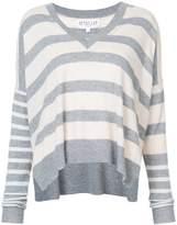 Derek Lam 10 Crosby striped V-neck sweater