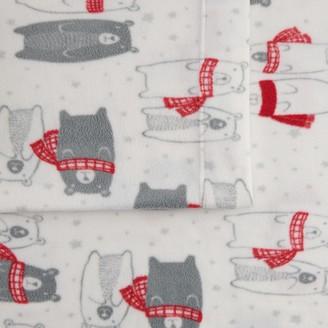 Cuddl Duds Fleece Sheet Set or Pillowcase Set