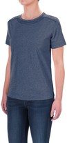 Woolrich Tall Pine Embroidered Heather T-Shirt - Scoop Neck, Short Sleeve (For Women)