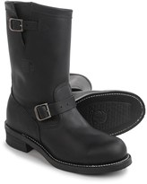 """Chippewa Engineer Leather Work Boots - Steel Safety Toe, 11"""" (For Men)"""