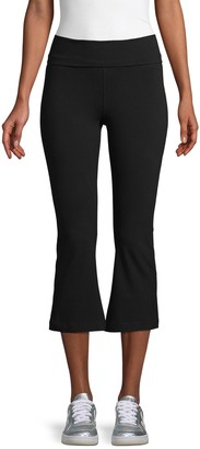 Hard Tail Rolldown Flare Capri Pants