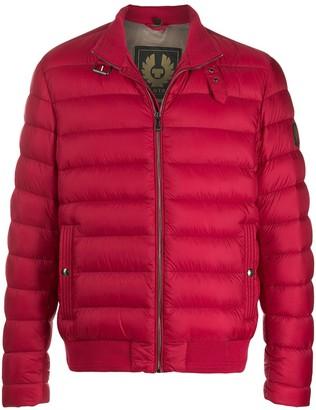 Belstaff Buckled Neck Puffer Jacket
