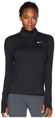 Nike Element 1/2 Zip Top (Black) Women's Long Sleeve Pullover