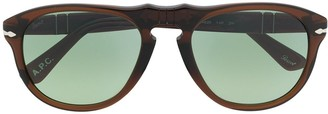 Persol Rounded Square-Frame Sunglasses