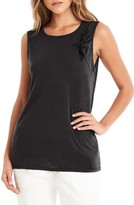 Michael Stars Women's Knotted Tie Tank