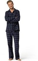 Tommy Hilfiger Plaid Flannel Pajama Set