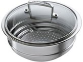 Le Creuset 2.75-qt. Stainless Steel Stainless Covered Steamer Insert