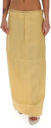 Jacquemus La Jupe Terraio Maxi Skirt