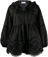 RED Valentino broderie anglaise hooded jacket