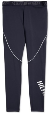 Tommy Hilfiger Adaptive Women's Performance Leggings With Pull-Up Loops