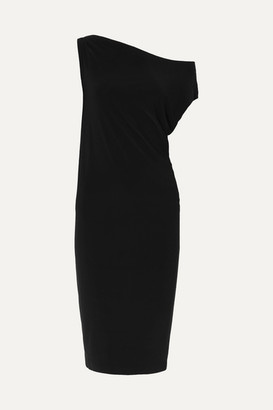 Norma Kamali Stretch-jersey Dress - Black