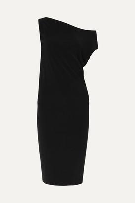 Norma Kamali Stretch-jersey Dress