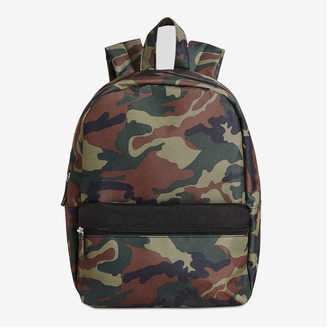 Joe Fresh Kid Boys' Camo Backpack, Green (Size O/S)