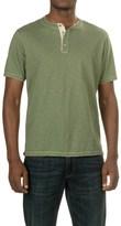 True Grit Soft Slub Henley Shirt - Short Sleeve (For Men)