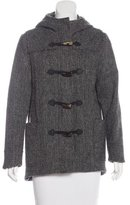 Rag & Bone Wool Hooded Coat