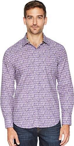 Robert Graham Men's TRESCO Long Sleeve Classic FIT Shirt
